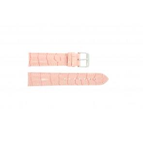 Bracelet de montre Universel 285.14 Cuir Rose 20mm
