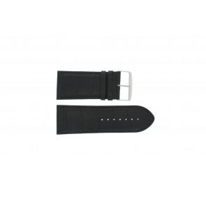 Bracelet de montre Universel 305.01 Cuir Noir 30mm