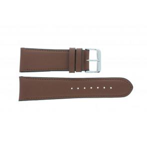 Bracelet de montre 61215B.23.26 Cuir Brun 26mm + coutures défaut