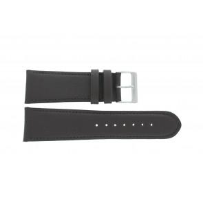 Bracelet de montre 61215B.27.26 Cuir Brun foncé 26mm + coutures défaut