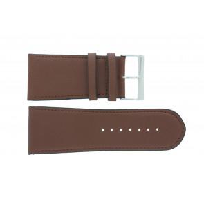 Bracelet de montre 61215EB.23.38 Cuir Brun 38mm + coutures défaut
