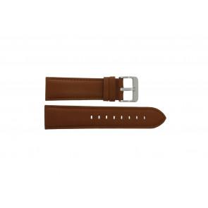 Bracelet de montre Condor 632.3.24 WATERPROOF Cuir Cognac 24mm