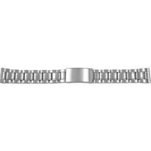 Bracelet de montre CMA54-18 Métal Argent 18mm