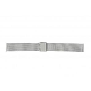 Bracelet de montre Universel 18.1.5-ST-ST Milanais Acier 18mm