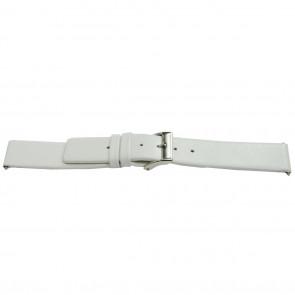 Bracelet de montre cuir blanc 26mm EX-J510