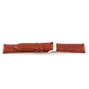 Bracelet de montre Universel C335 Cuir Cognac 12mm