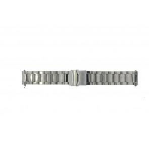 Bracelet de montre Universel QQ22RHSHI Acier 22mm