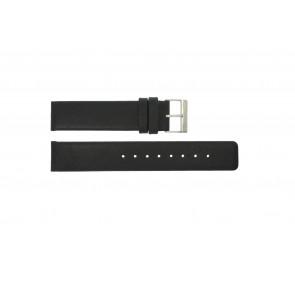 Bracelet de montre Obaku V112 Cuir Noir 20mm