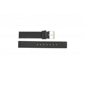 Bracelet de montre Obaku V139 Cuir Noir 16mm