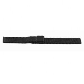 Bracelet de montre Universel YH13 Milanais Noir 22mm