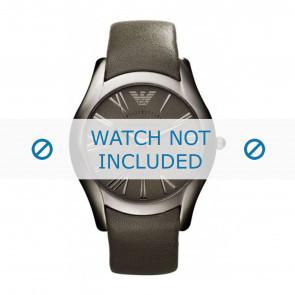 Armani bracelet de montre AR2057 Cuir Gris 22mm