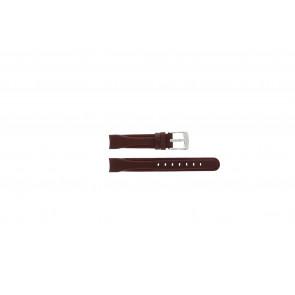 Bracelet de montre Camel 4000-4009 / BC50918 Cuir Rouge 14mm