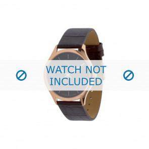 Calvin Klein bracelet de montre K26215 Cuir Brun 19mm