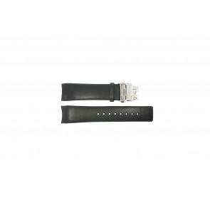 Calvin Klein bracelet de montre K1V278 Cuir Noir 22mm