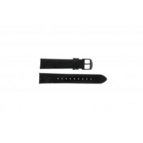 Timex bracelet de montre T2N790 Cuir Noir 18mm