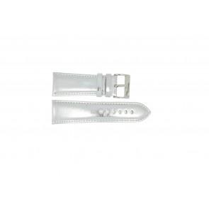 Bracelet de montre Universel 369.31 Cuir Gris 30mm